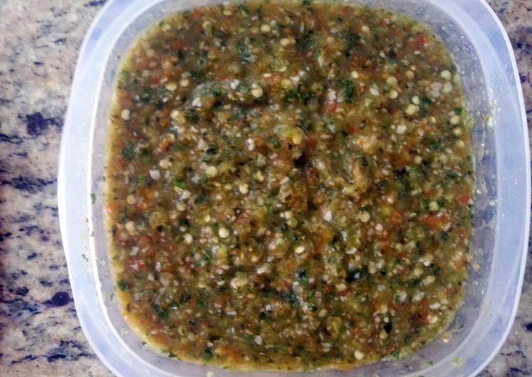 5 Minute Recipe of Speedy salsa caliente