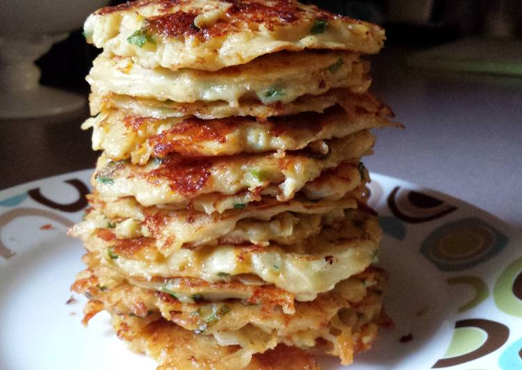 Step-by-Step Guide to Prepare Award-winning Potato-Apple Cheddar Pancakes