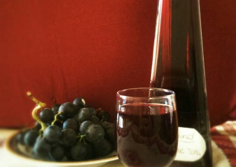 Simple Way to Prepare Super Quick Homemade Concord grape liqueur