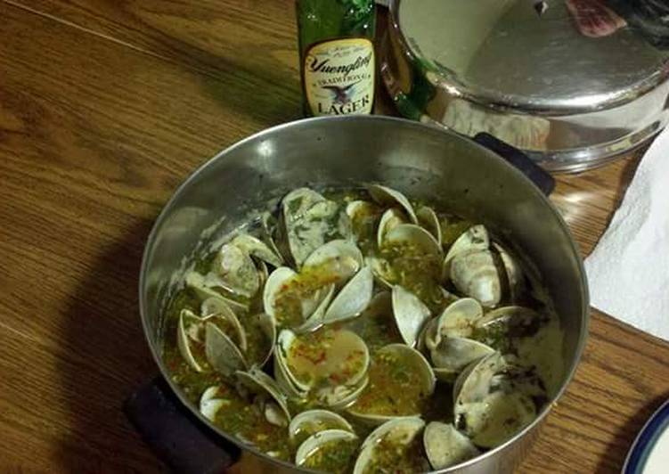 Recipe of Perfect Drunken Clams