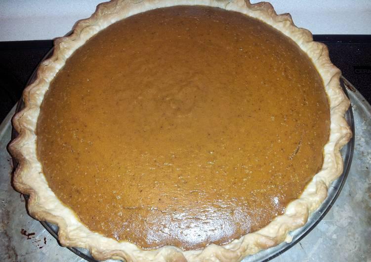 My Ultimate Pumpkin Pie