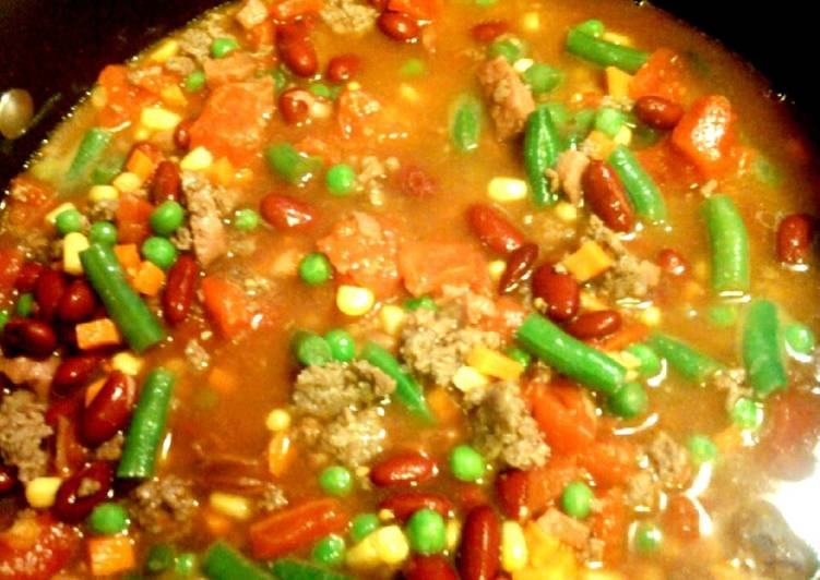 Ruby 's Vegetable Beef Soup