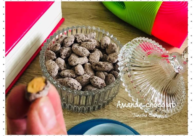 Amande chocolat (coklat almond)