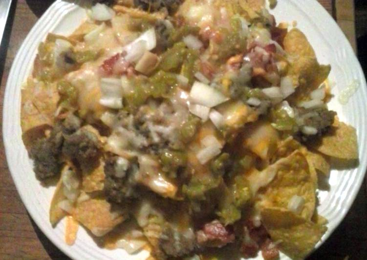 Simple Way to Make Quick Brad's ultimate breakfast nachos