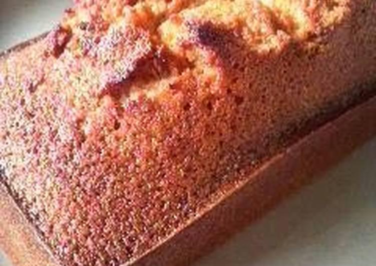 Step-by-Step Guide to Make Super Quick Homemade Super Rich Financier Poundcake