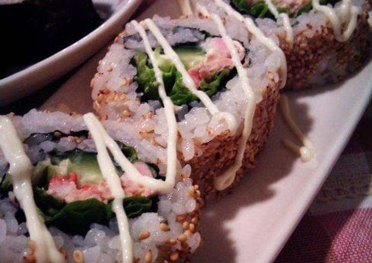 Easy and Fancy California Rolls