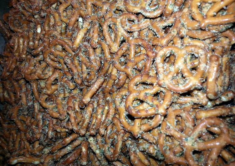 How to Cook Tasty Neil's spicy pretzels.