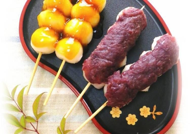 Recipe of Speedy Mitarashi Dango For Cherry Blossom Viewing Parties