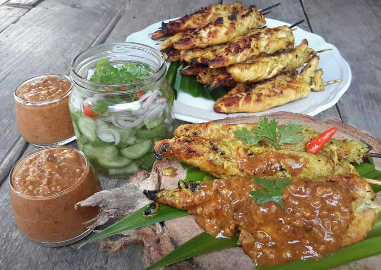 Recipe of Any-night-of-the-week Thai Chicken Satay