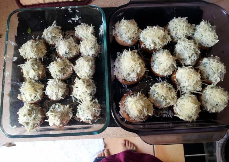 Recipe: Tasty stuffed mushrooms