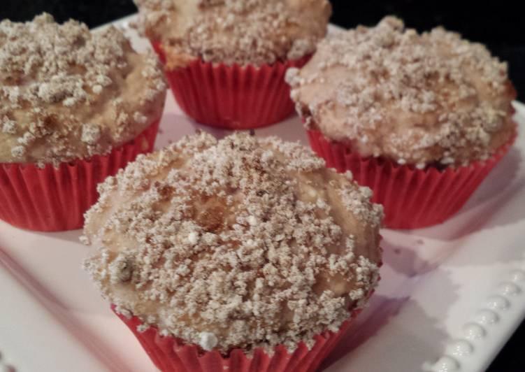 quick cranberry muffins