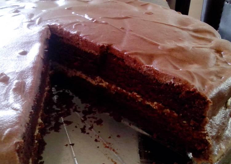 Chocolate Sheet Cake (Thermomix)