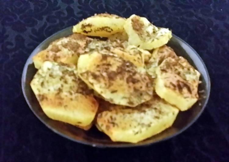 Recipe: Delicious Masala seasoned potatoes