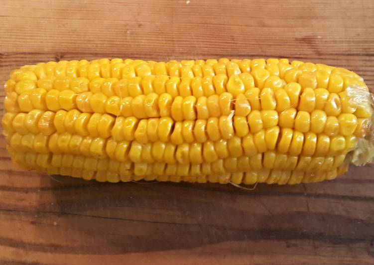 Step-by-Step Guide to Make Favorite Corn on the cob.