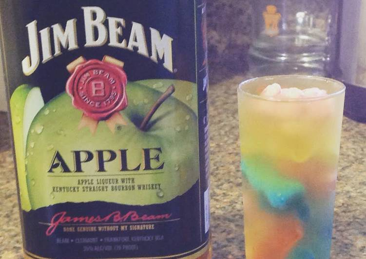 Steps To Prepare Favorite Jim Beam Apple Gummy Shooters Food Recipes