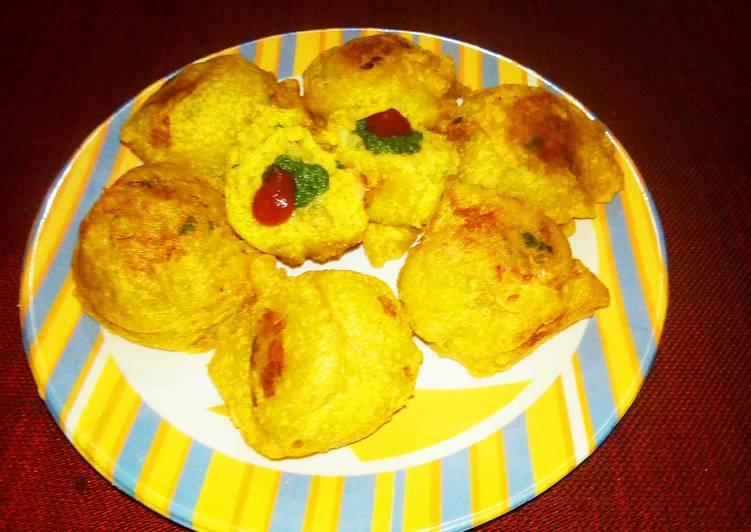30 Minute Recipe of Ultimate Veg pulav vada