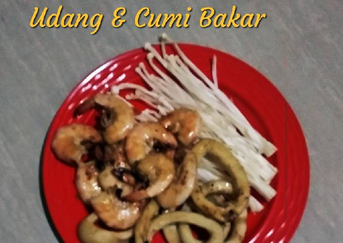 Udang & Cumi Bakar Saus Tiram - projectfootsteps.org