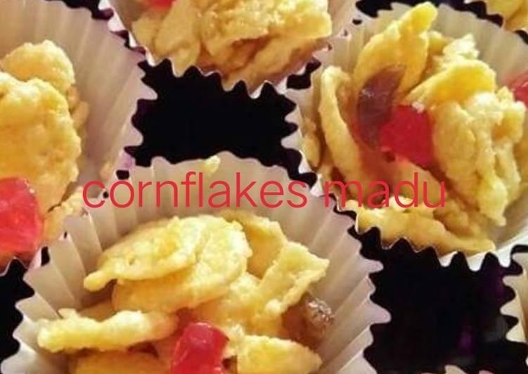 Cara Mudah Masak: Cornflakes madu#maraton#raya  Terbaru