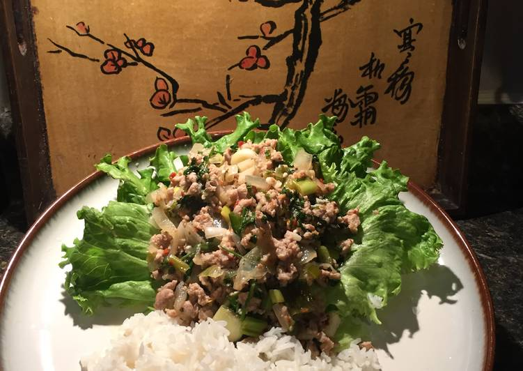 Quick and Easy Recipe: Perfect Turkey Larb