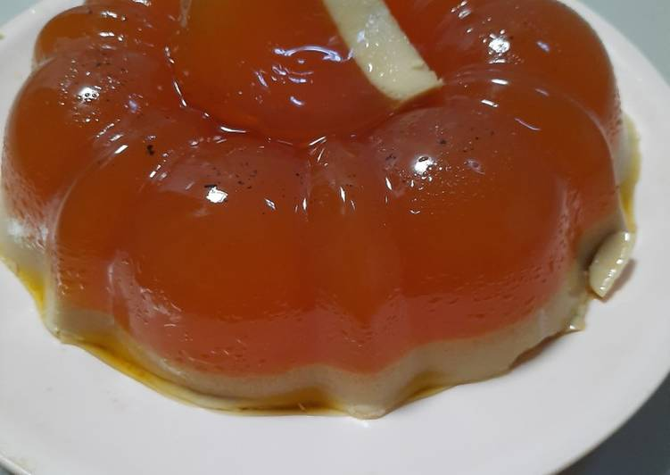 Agar agar santan gula merah