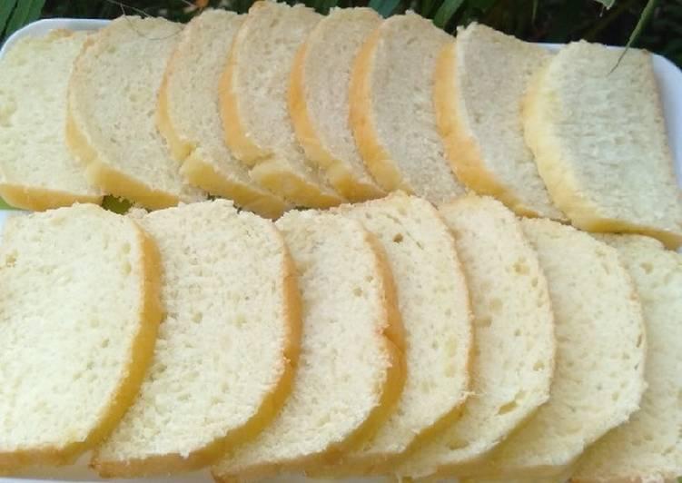 Resep Roti Tawar Hokkaido Bikin Laper