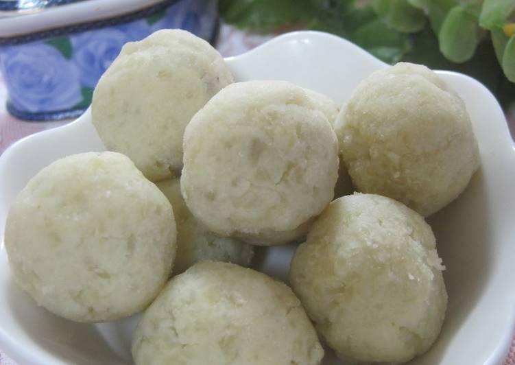 Sweet Potato Balls with Okara - Laurie G Edwards