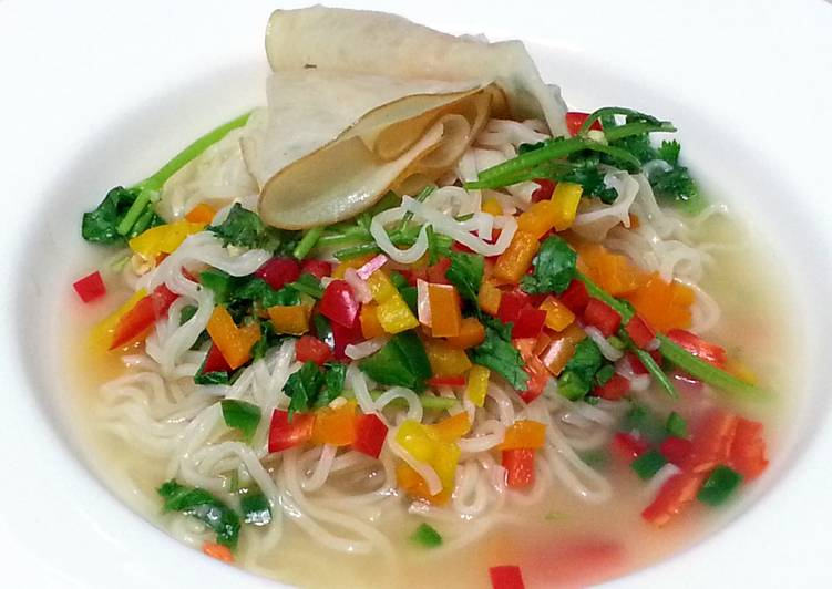 Simple Way to Prepare Super Quick Homemade Chicken Instant Noodle Soup