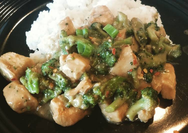 Easiest Way to Make Perfect Chicken and broccoli (pioneer woman/my spin)