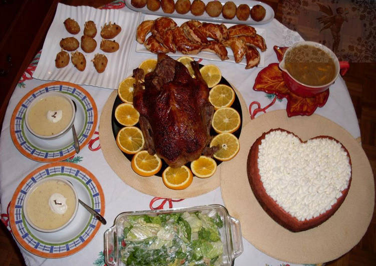 Sajian Natal Khas Hongaria (Bebek Panggang)