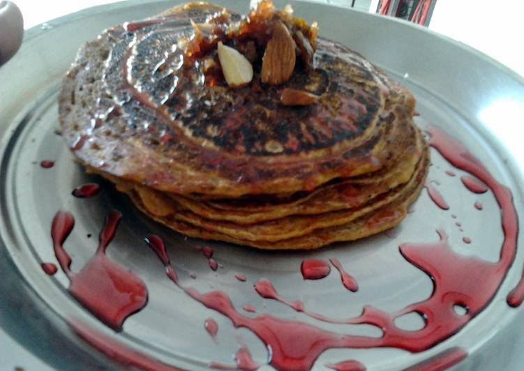 Recipe: Tasty MULTIGRAIN ALMOND PANCAKES  LNS VEGAN