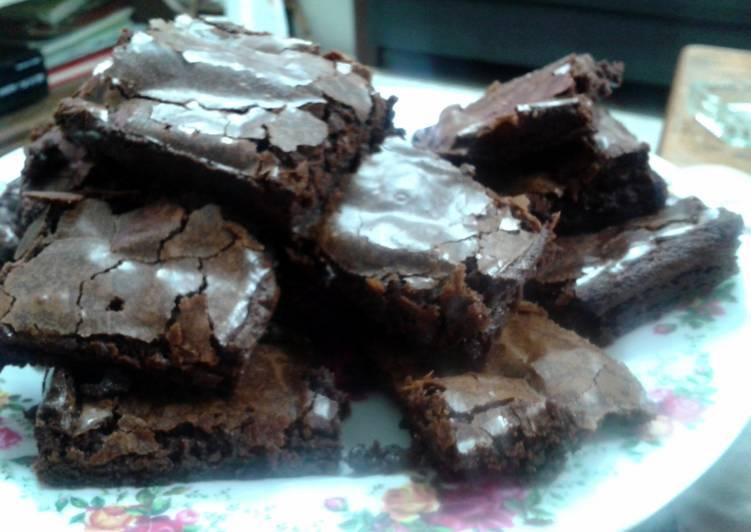 Fudgy Brownies By Laura vitale