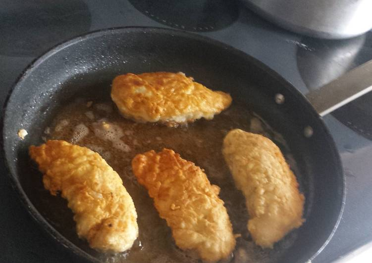 Recipe: Tasty Delicious Pan-fried Chicken Breasts