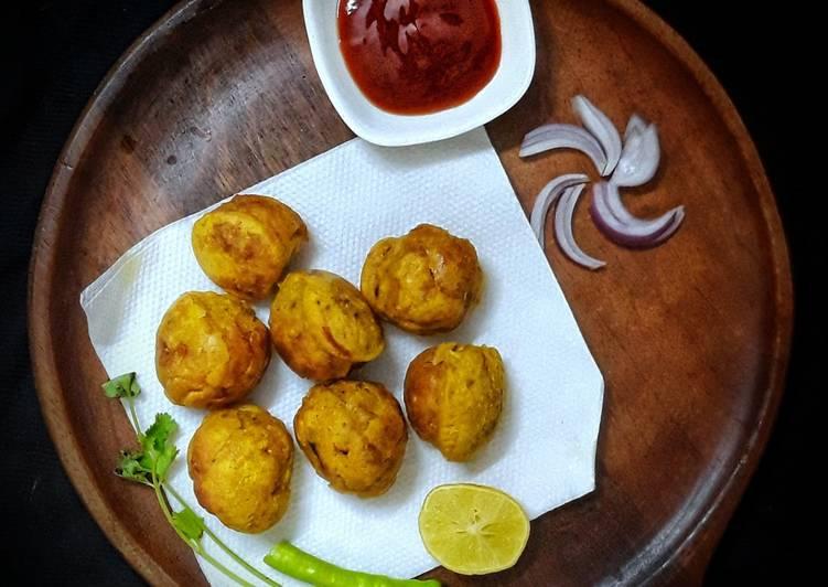 Simple Way to Prepare Homemade Batata vada