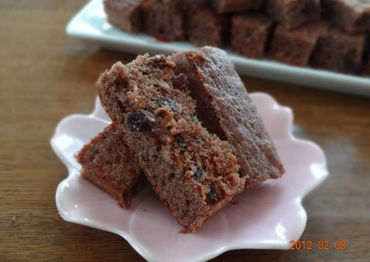 Big Brownies with Cocoa