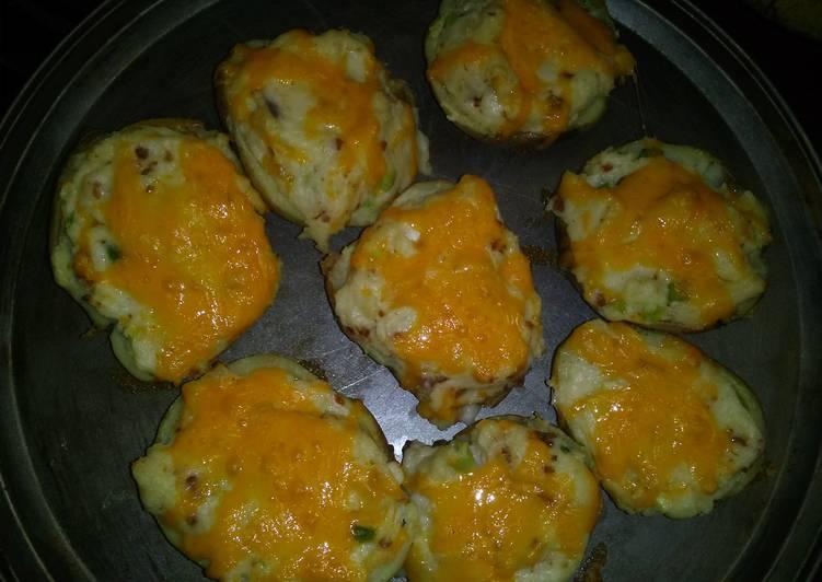 Twice baked potato's