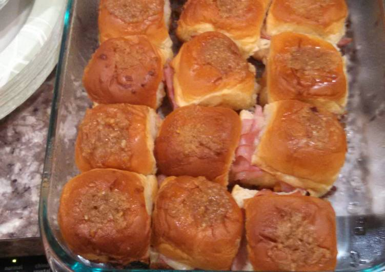 Recipe: Appetizing Ham and Cheese Dijon Sandwiches