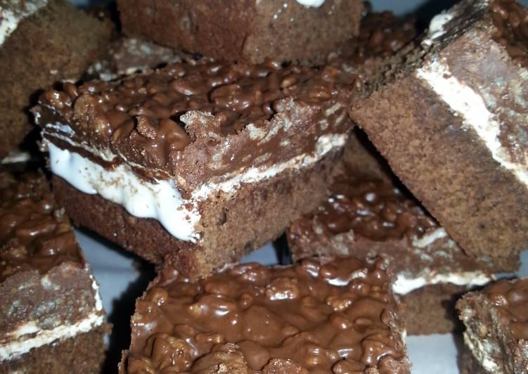 """"" Chocolate Crunch Brownies """""