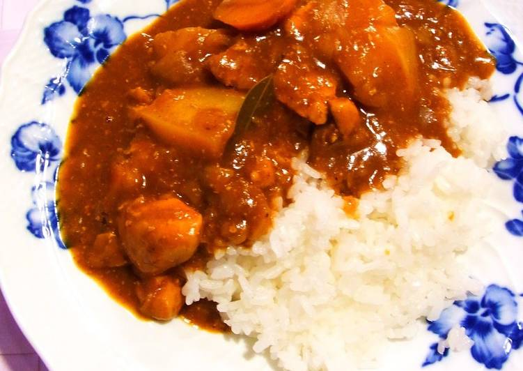 Steps to Make Homemade Healthy Soft Chicken Curry
