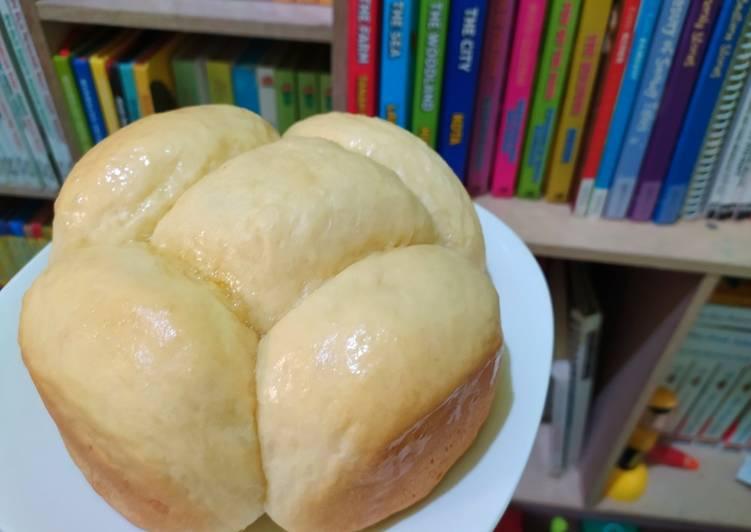 51. Roti sobek panggang wokpan/panci 💚