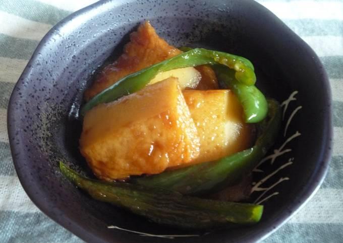 5-Minute Sweet and Savory Satsuma-age Simmer