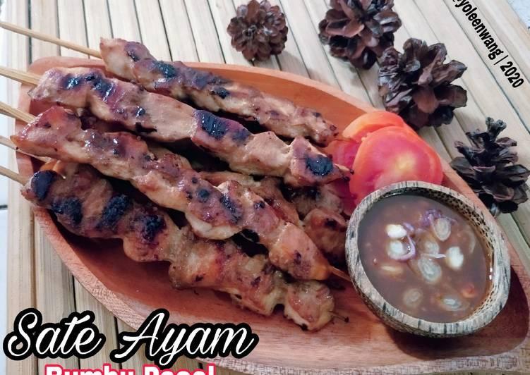 Sate Ayam Bumbu Pecel - cookandrecipe.com