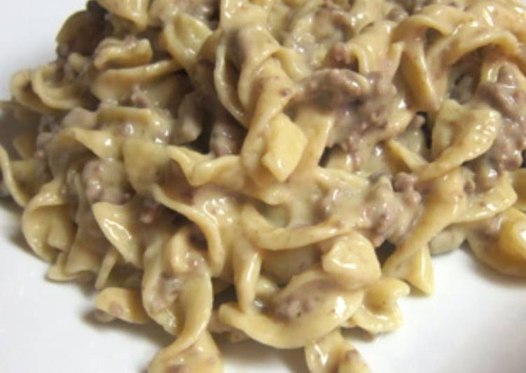 Eat These 25 Superfoods to Go Green for Optimal Health, Beef Stroganoff (Sour Cream Free)