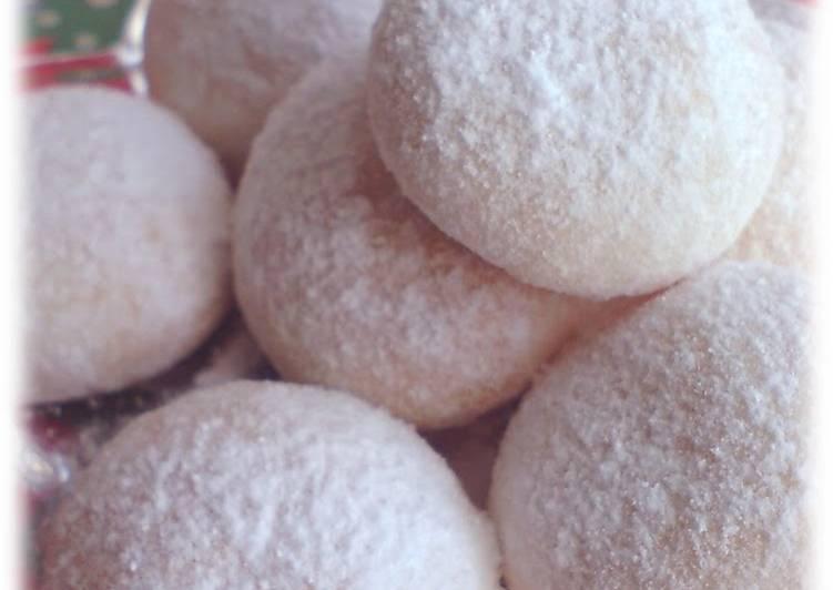 Easiest Way to Prepare Favorite Snowball Cookies for Christmas