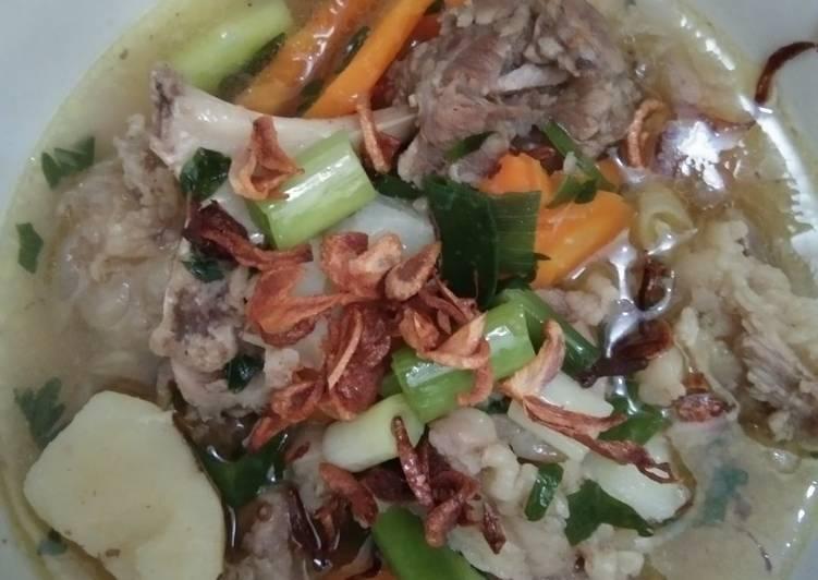 Resep Sup Daging Sapi Khas Padang Minangkabau Anti Gagal