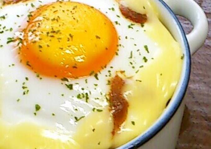 Baked Curry Rice with Eggs