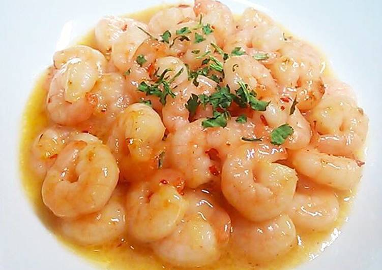 Low-Calorie Shrimp Stir-Fry in Chili Mayo Sauce