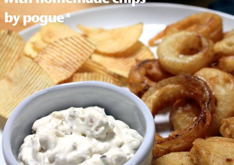 How to Make Perfect Quick Sour Cream & Onion Dip with Yoghurt