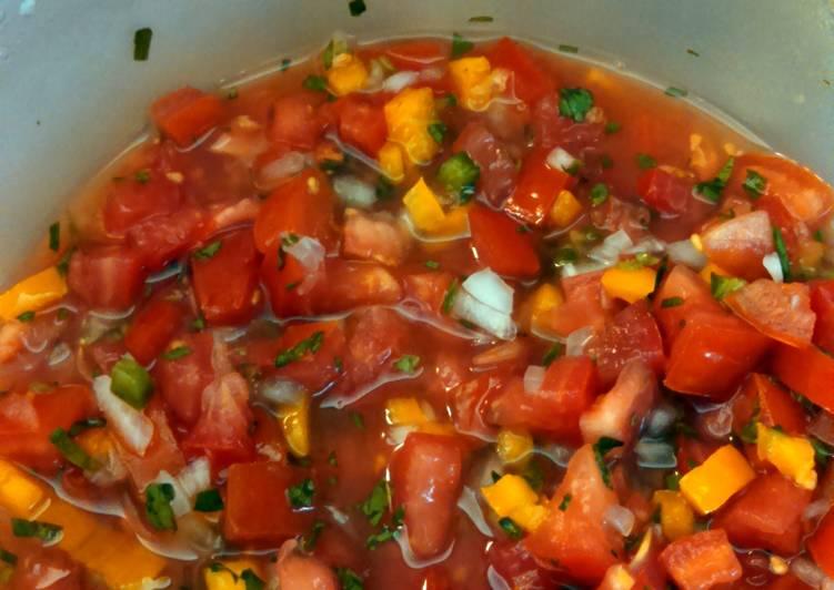 Recipe of Super Quick Homemade Sarah's Pico de Gallo