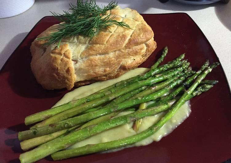 Recipe: Appetizing Salmon en Croute