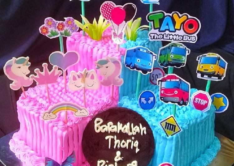 Bolu Tiramisu (base cake ultah)